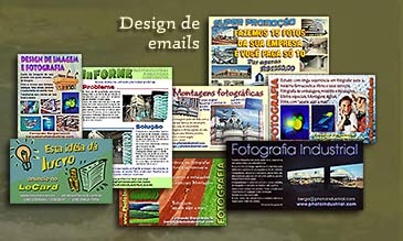design gráfico de emails